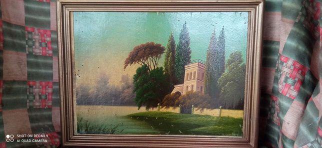 Картина нарисована маслом