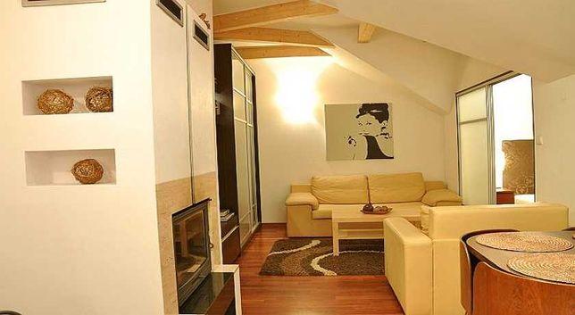Luksusowy apartament z kominkiem Zakopane