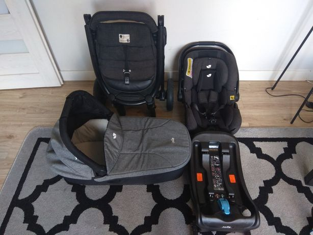 Joie mytrax 4w1 wózek gondola fotelik spacerówka gratis parasolka