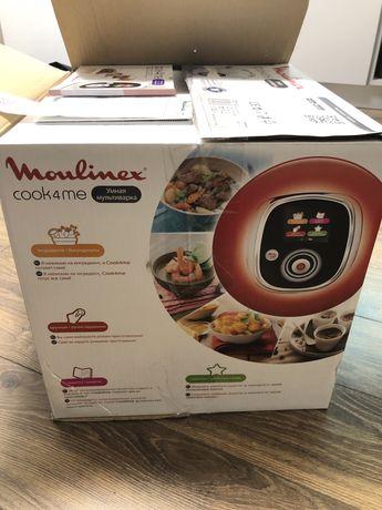 Умная мультиварка Moulinex cook4me