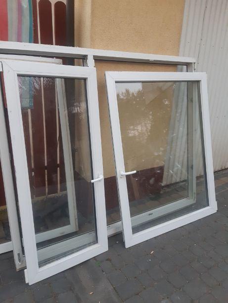 Okna PCV z demontażu Oknoplast białe 3 komorowe