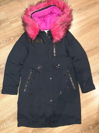 Куртка парка для девочки на 11 лет