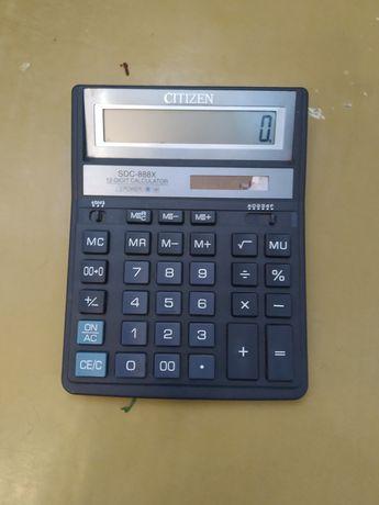 Продам два калькулятора.citizen и skiner в рабочем и хорошем состоянии