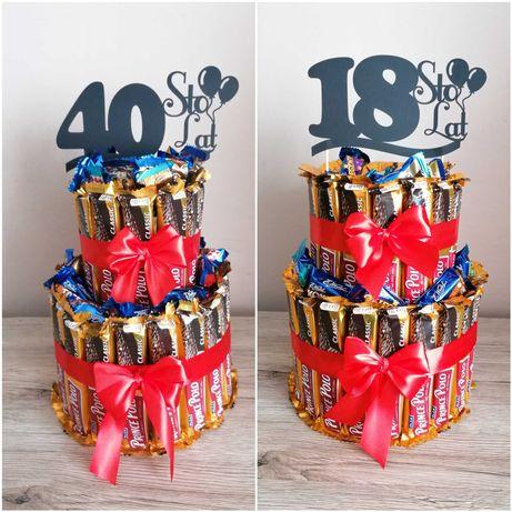 Tort urodzinowy Prince Polo, na 18tke