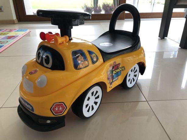 Auto jeździk żółty autobus