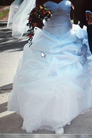 Suknia ślubna+welon.