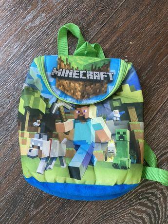 Детский рюкзак майнкрафт