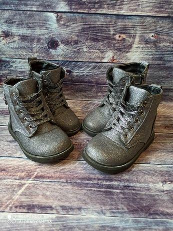 24 25 размер деми ботинки, сапожки для двойни