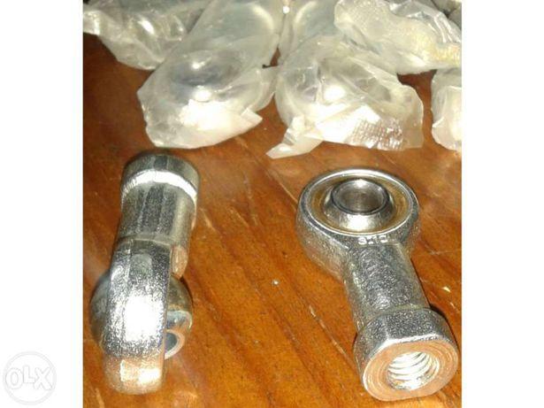5X Rótulas auto-lubrificantes 10mm Femea
