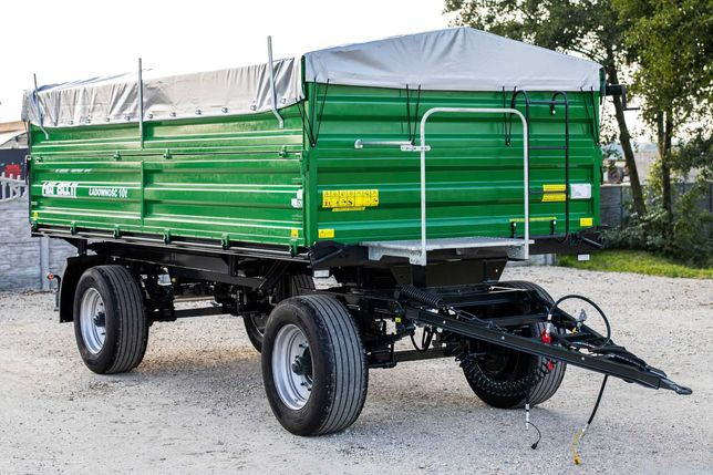 Przyczepa Rolnicza HL HW 3 Stronny Wywrot 6011 Ładowność 10 HW 8011