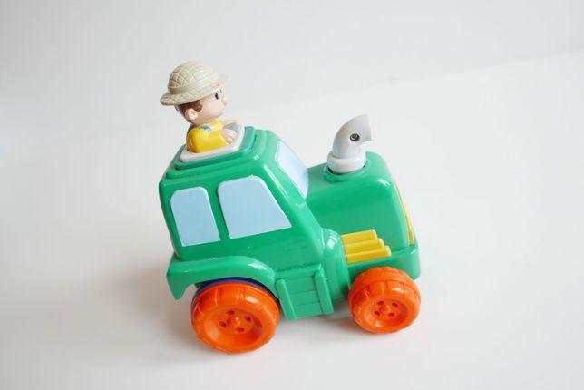 Elefun toys Traktor Mały Farmer - naciśnij i jedź