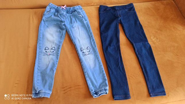 Sprzedam 2 pary jeansów rozm.140