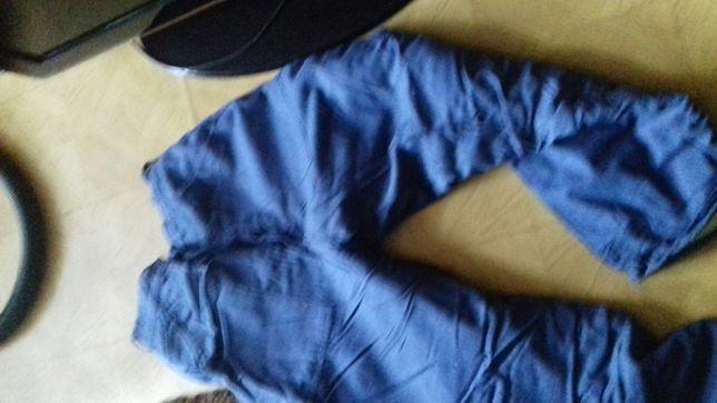 Spodnie rob. ocleplane