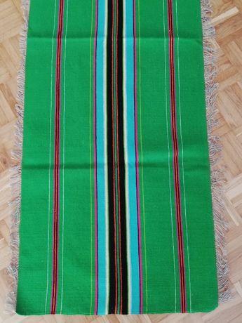 serweta wełniana w paski