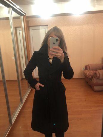 Натуральное кашемировое пальто