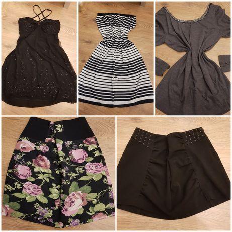 Sukienka bluzka podkoszulki spodnie i inne ciuszki 5zł