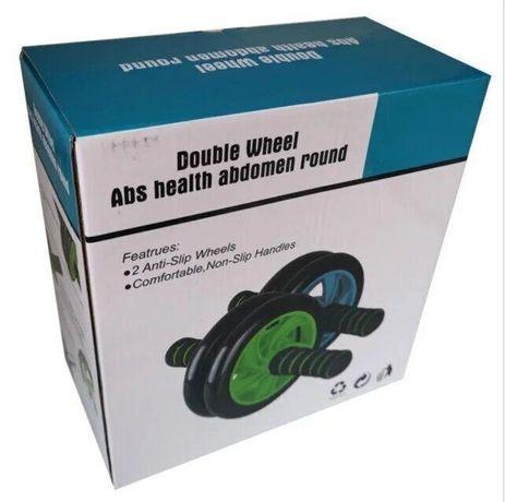Фитнес колесо для пресса Double wheel Abs health abdomen round