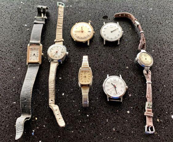 Lote de 7 relogios TIMEX Vintage Decadas 60-70