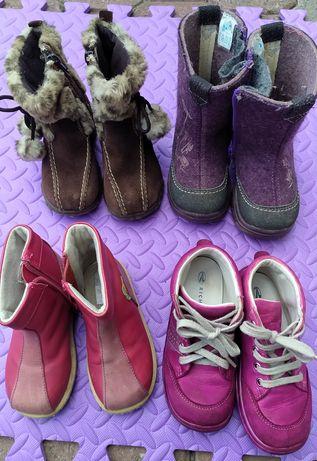 Ботинки, сапожки, валянки с 22 по 25