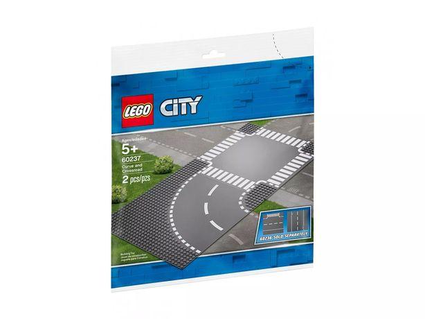 Lego City 60237 Zakręt i skrzyżowanie płytki ulic Wys24