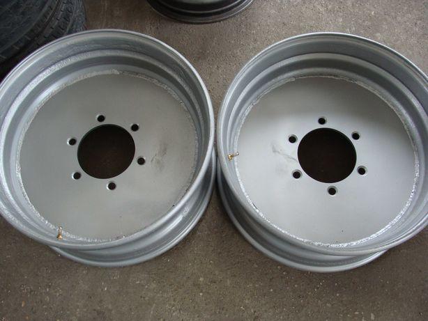Felgi na 6 śrub 22,5 cala do przyczep D35, D46, D47 4 sztuki