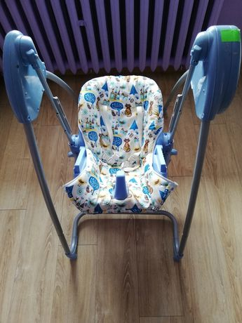 Huśtawka plus krzesełko do karmienia