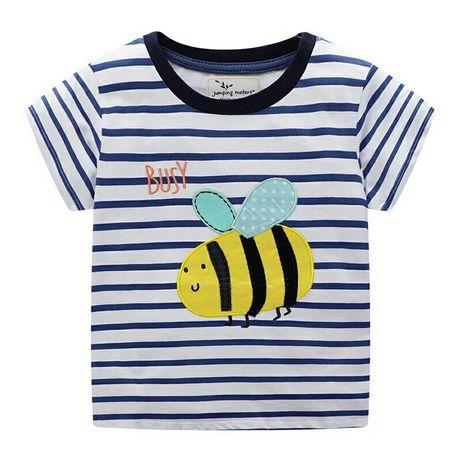 Футболка на мальчика, девочку на 2-3 года с пчелкой