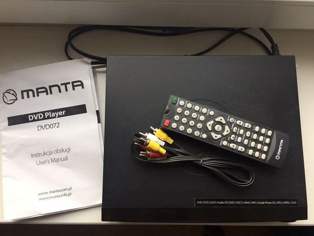 Odtwarzacz DVD Manta - stan perfekcyjny