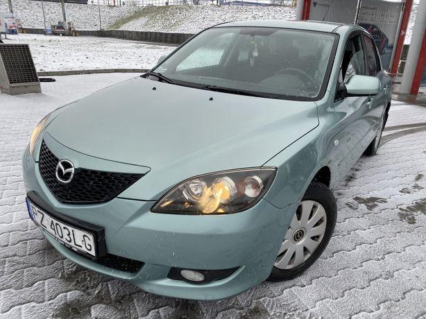 Mazda 3 1.6 Benzynka 2004/05r ~ MegaOkazja ~ KlimaMrozi ~  Ekonomiczna