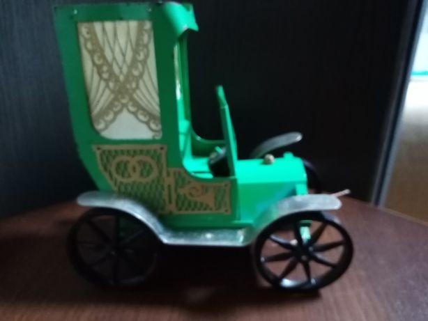 Машинка Карета металлическая