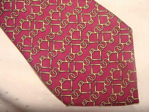 Hermes оригинал шелк Франция галстук идеал винтаж