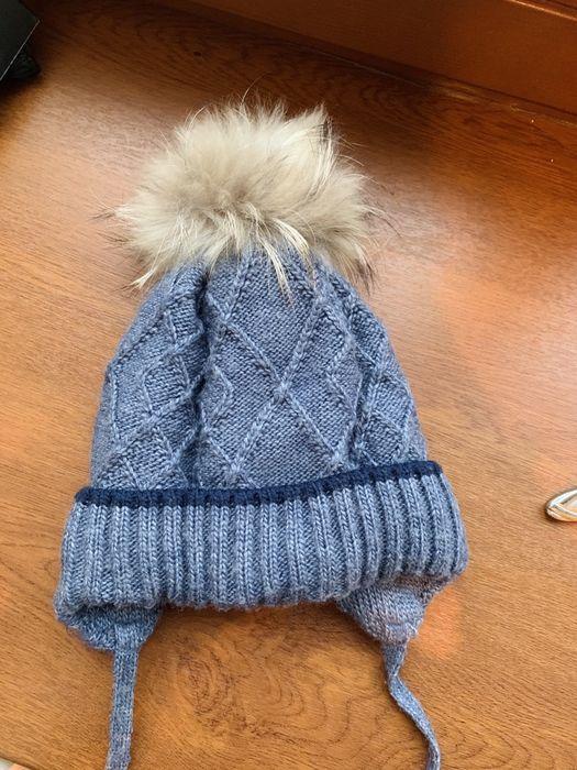 Шапка зимняя на мальчика 48р. Инженерный - изображение 1