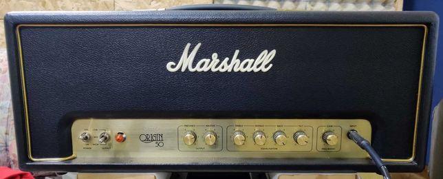 Marshall origin 50 watt head cabeça de amplificador