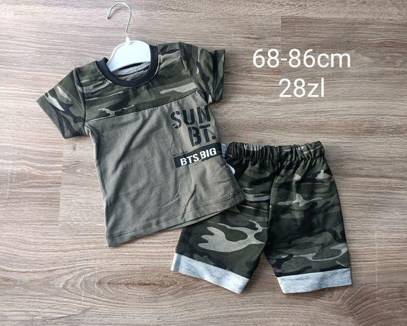 Koszulka spodenki komplet 68-86