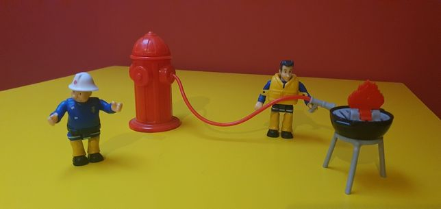 Zabawki Bob Budowniczy, strażak Sam
