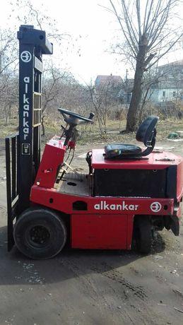 Балканкар ЕВ 687, электро погрузчик / электропогрузчик / кара