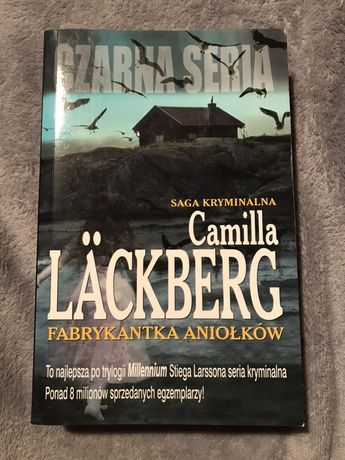 """Książka """"Fabrykantka aniołków"""" Camilla Läckberg"""