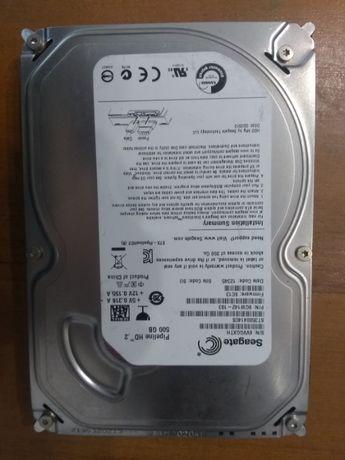 Жесткий диск 3,5-500 гб