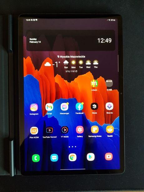 Samsung Galaxy Tab S7+ Plus, Samsung Book Cover - Sprzedam/Wymienię
