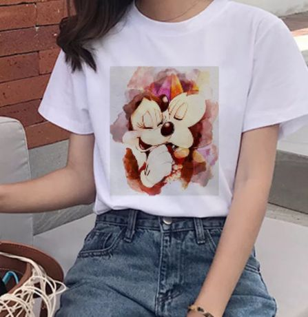 Koszulka bluzka t-shirt Disney myszka Minnie Miki mouse Disney S-XXXL