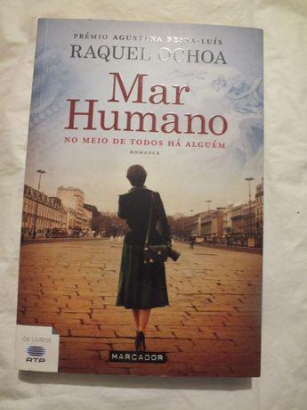 Livro-Mar Humano - Raquel Ochoa