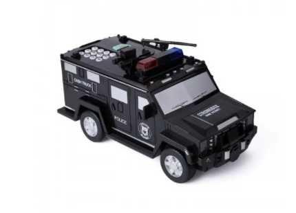 Сейф-копилка Полицейская машина с кодовым замком