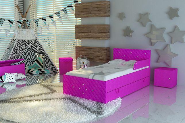 Łóżko dla dziecka,dziecięce z materacem i szufladą,dostawa GRATIS