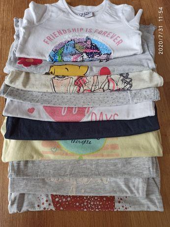 Koszulki bluzeczki 98-104