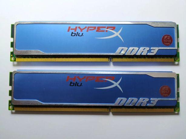 Kingston HyperX Blu DDR3 4Gb (2*2Gb) 1600MHz PC3-12800 (KHX1600C9AD3B1
