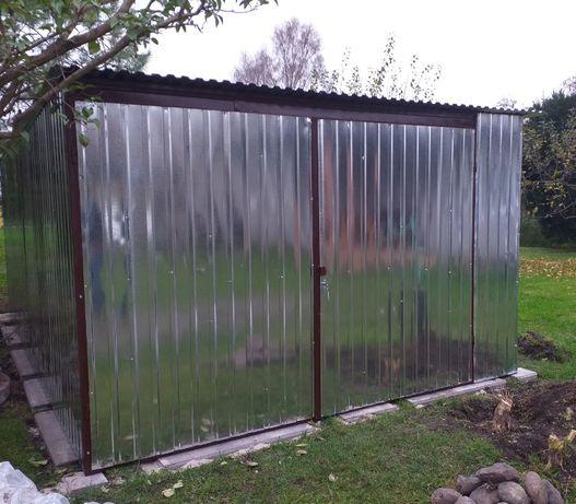 GARAŻ BLASZANY Producent garaże blaszane wiaty schowki blaszak blaszak