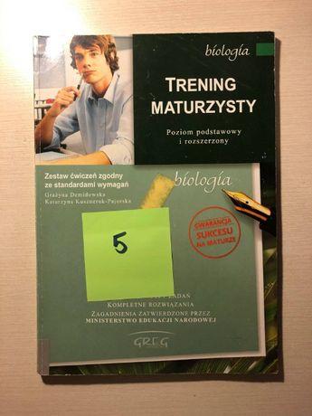 Trening maturzysty. Biologia. Greg