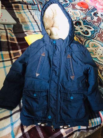 Теплая зимняя куртка Makr&Spenser