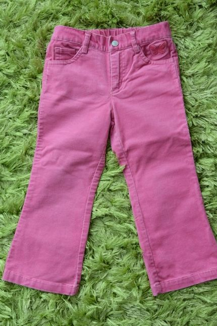 Spodnie CUBUS, rozmiar 98, spodenki bawełniane sztruksy jeansy