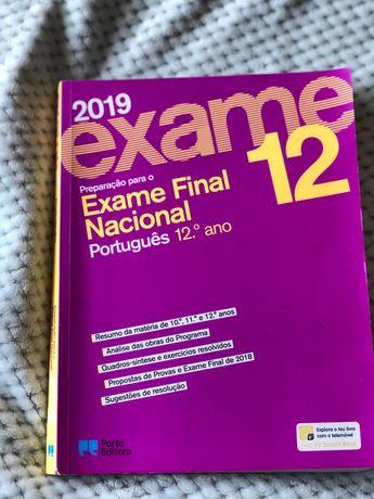 Preparação para o Exame Nacional 12° Português Porto Editora